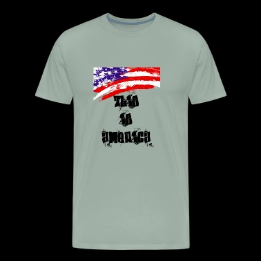 this is america - Men's Premium T-Shirt
