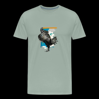 Cemani The Black Sacred Chicken - Men's Premium T-Shirt