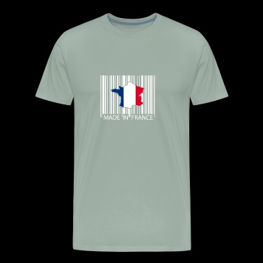 Made in France French Flag Graphic - Men's Premium T-Shirt