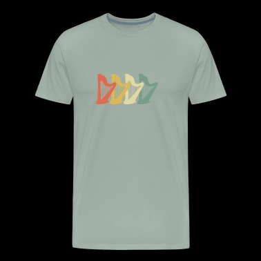 Harp 70s Retro Look - Men's Premium T-Shirt
