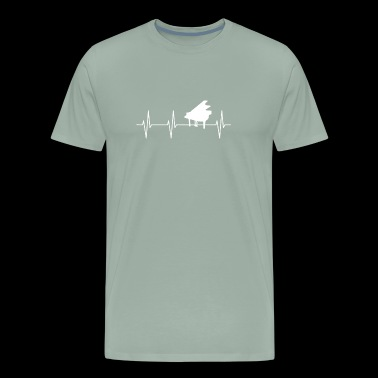 My Heart Beats For Piano - Men's Premium T-Shirt