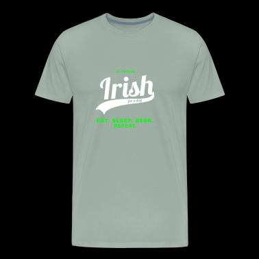 Irish for a day - Men's Premium T-Shirt