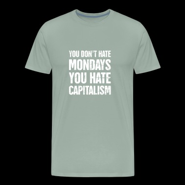 Late Stage Capitalism Marxism Graphic - Men's Premium T-Shirt