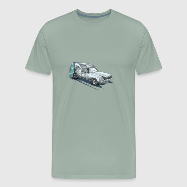 Surf Van - Men's Premium T-Shirt