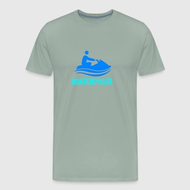 Boatercycler funny Jet Ski - Men's Premium T-Shirt