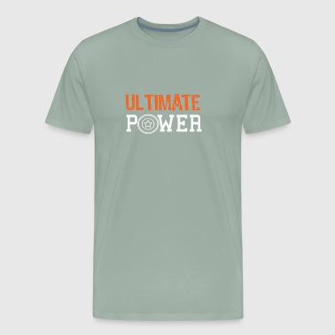 Ultimate Frisbee power gift for awesome gils & boys - Men's Premium T-Shirt
