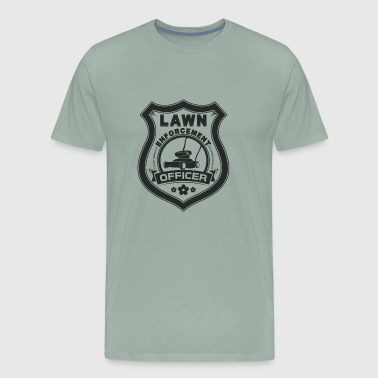 Lawn Enforcement Officer Gift - Men's Premium T-Shirt
