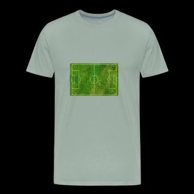 football pitch field (grass) - Men's Premium T-Shirt