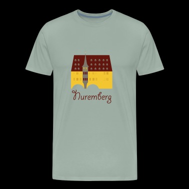Cute Nuremberg Logo gift present idea - Men's Premium T-Shirt