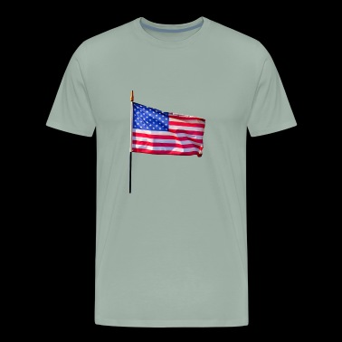 Stars & Stripes (American Flag) - Men's Premium T-Shirt