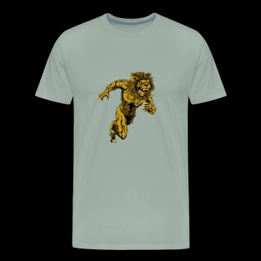 The power of the lion - Men's Premium T-Shirt