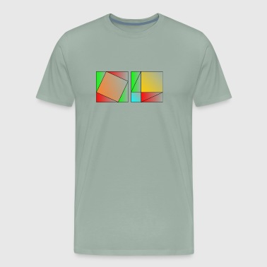 Pythagoras' Theorem - Men's Premium T-Shirt