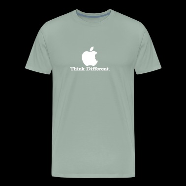 Apple Think Different T Shirt Logo Men s Steve Job - Men's Premium T-Shirt