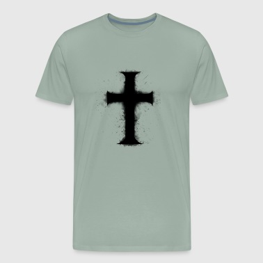 cross black - Men's Premium T-Shirt