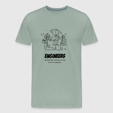 frustrated engineer - Men's Premium T-Shirt