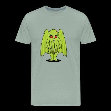 Funny but Scary Cthulhu - Men's Premium T-Shirt