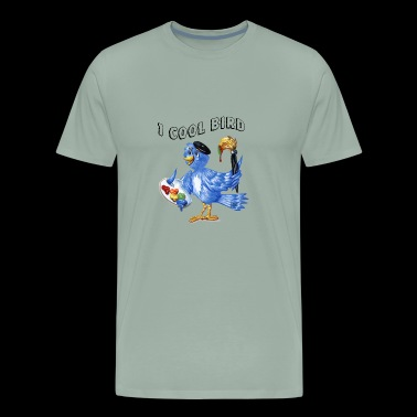 Berry one cool bird - Men's Premium T-Shirt