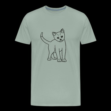 adorable sweet baby-cat, sweet gift idea - Men's Premium T-Shirt