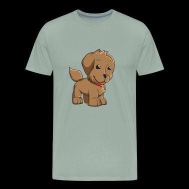 Puppy smiley - Men's Premium T-Shirt