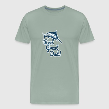 Funny Fisherman Shirt for Dads - Men's Premium T-Shirt