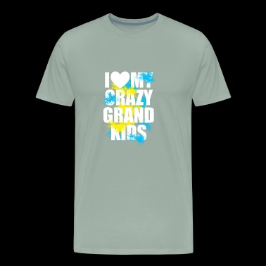 I Love My Crazy Grandkids - Men's Premium T-Shirt