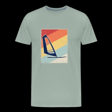 Retro Windsurfing - Men's Premium T-Shirt