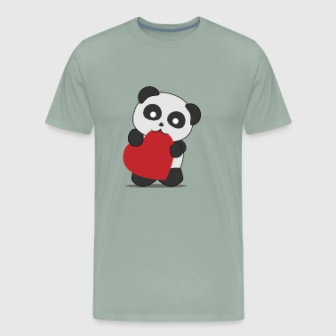 Panda love - Men's Premium T-Shirt