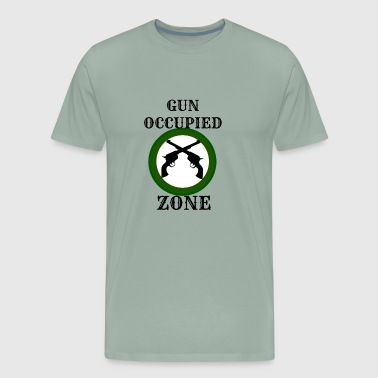 Gun Occupied Zone - Men's Premium T-Shirt