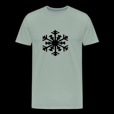 Snowflake design - Men's Premium T-Shirt