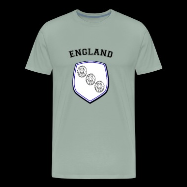 ENGLAND 3 Lions Soccer Three Lions - Men's Premium T-Shirt