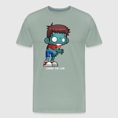 Zombie boy lover - Men's Premium T-Shirt
