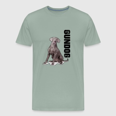 weimaraner gundog hunting hunter dog - Men's Premium T-Shirt