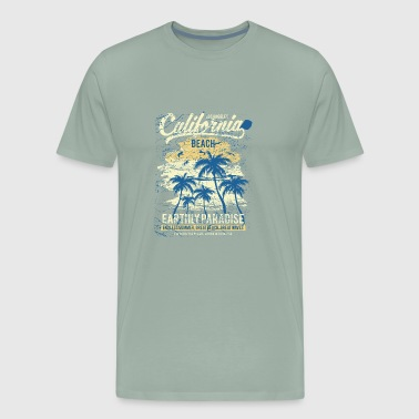 California Beach - Men's Premium T-Shirt