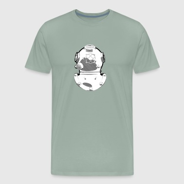 Diving Helmet - Men's Premium T-Shirt
