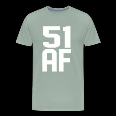 51 AF Years Old - Men's Premium T-Shirt
