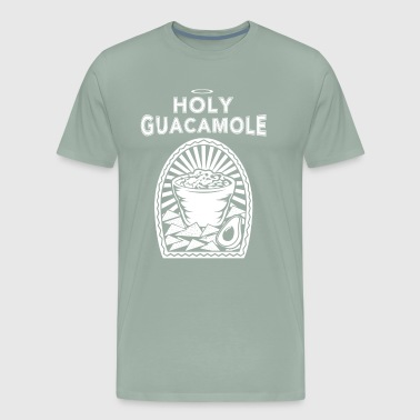 Holy Moly Guacamole Avocado Vegan Vegetarian - Men's Premium T-Shirt