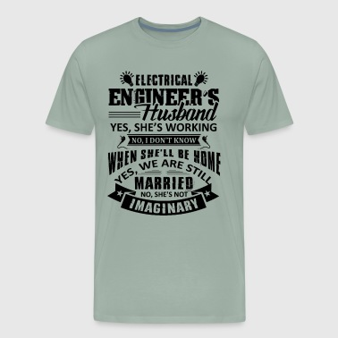 Electrical Engineer Husband Shirt - Men's Premium T-Shirt
