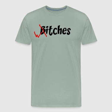 funny halloween witches bitches - Men's Premium T-Shirt