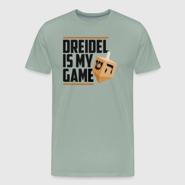 Dreidel Is My Game Jewish Winter Hanukkah Holiday - Men's Premium T-Shirt