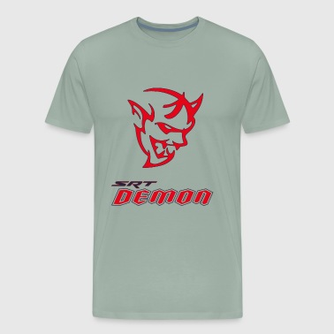 DODGE DEMON HEAD - Men's Premium T-Shirt