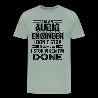 Audio Engineer Shirt - Men's Premium T-Shirt