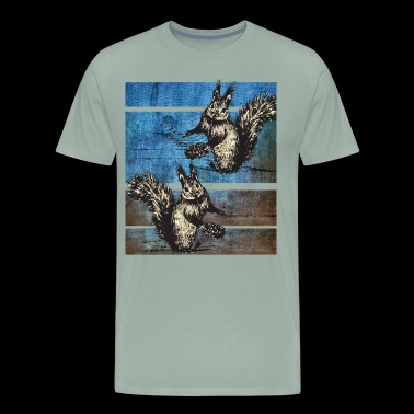 Squirrels - Men's Premium T-Shirt