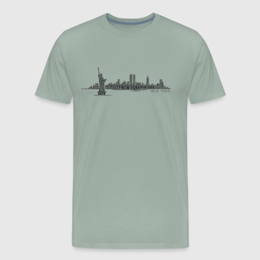 shirt new york city - Men's Premium T-Shirt