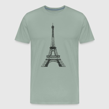 custom t shirts paris - Men's Premium T-Shirt