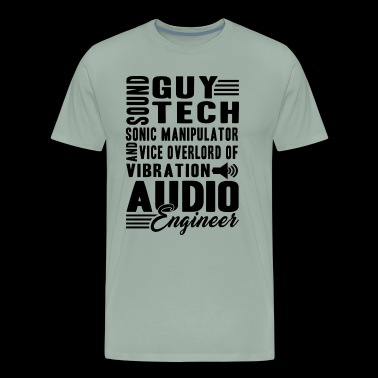 Funny Audio Engineer Shirt - Men's Premium T-Shirt