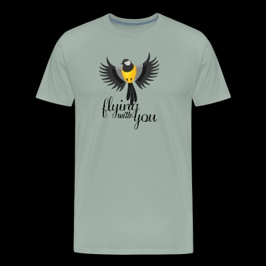 flying with you - Men's Premium T-Shirt