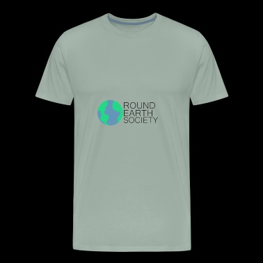Round Earth Society - Men's Premium T-Shirt