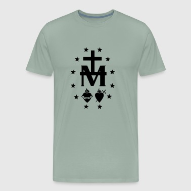 MIRACULOUS MEDAL SYMBOL WITH STARS - Men's Premium T-Shirt