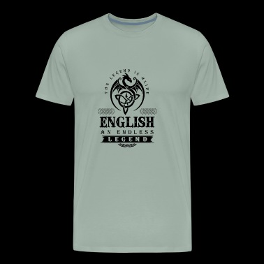 ENGLISH - Men's Premium T-Shirt