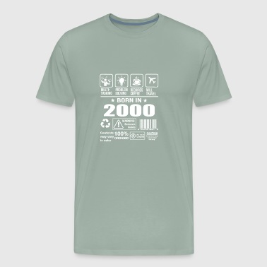 Born In 2000 - Men's Premium T-Shirt